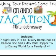 Last Chance to Enter to Win an Orlando, Florida Family Vacation #OrlandoGiveaway