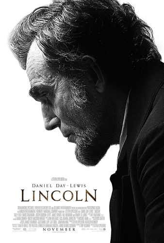 Spielberg Lincoln Movie Poster