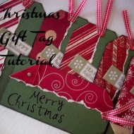 DIY Christmas Gift Tags Tutorial