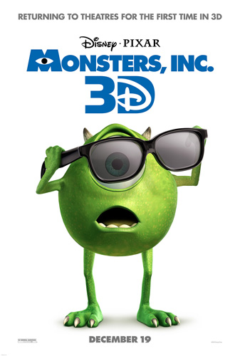 Mike Monsters Inc 3D