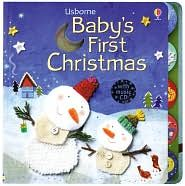 babys first christmas book