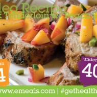 Paleo Recipe Pork Tenderloin With Peach Salsa #GetHealthy