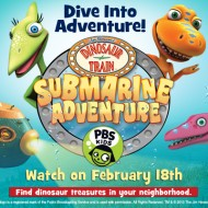Dinosaur Train Submarine Adventure Premiers February 18 on PBS KIDS