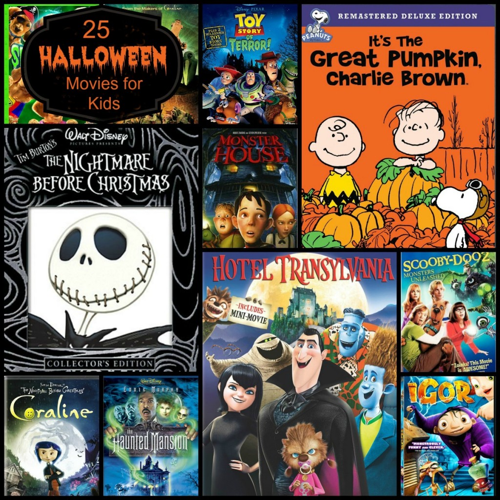 25 Halloween Movies for Kids and Families.