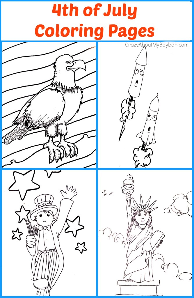 4th of July Coloring Pages: Free Printables